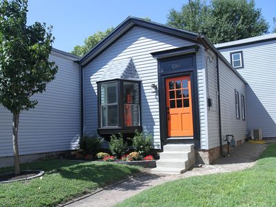 Photo for The Orange Door - Chic and Trendy 4BR Near Everything -DERBY PERFECT- Sleeps 10