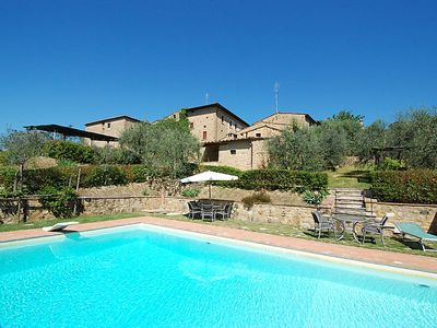 Photo for Vacation home Le Buche  in Castellina in Chianti, Tuscany Chianti - 8 persons, 3 bedrooms