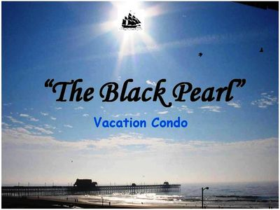 "Photo for ""The Black Pearl""  Myrtle Beach Oceanfront 2 Bedroom Condo Rental"