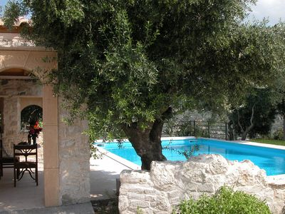 Photo for Villa, large private pool, huge estate, 50-60 acre, many own products, Heraklion