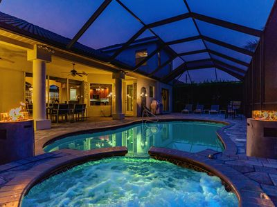 Photo for - 2 Masters - Steam Bath - Whirl-Pool - Saltwater Pool - Hammock...