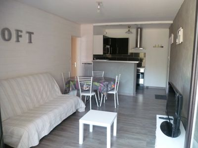Photo for apartment Saint Jean de Monts on the ground floor with large terrace