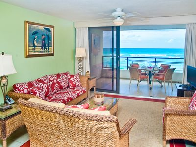 Photo for Personality-Plus 2-BR on the Beach in St Lawrence Gap Barbados