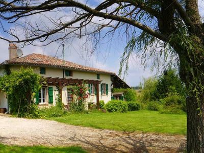 Photo for Breathtaking Views - French Farmhouse & Pool - Southwest France