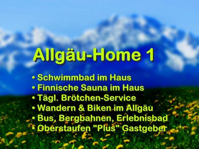 Photo for ❤️ Allgäu-Home 1 ❤️ Sauna & swimming pool in the house + Oberstaufen PLUS + WiFi