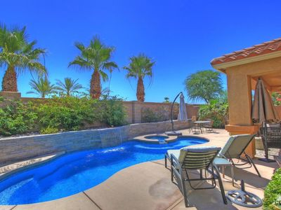 Photo for Desert Golf Oasis with Private Pool, 18 Hole Golf & 24 Hour Guard Gate Security