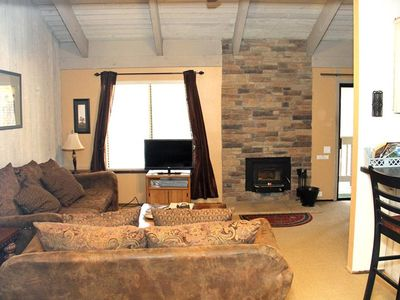 Photo for 1 Bedroom & Loft, 1 Bathroom, Sleeps 6, Two Levels to enjoy for your Mammoth Lakes Vacation