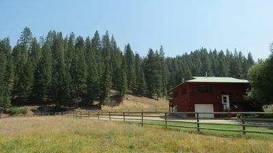 Photo for 3 Bedroom Ranch Home, 1 Mile Private River Front, Private Spring Creek, Golf