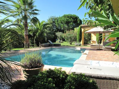 Photo for beautiful provencal villa with heated pool. Easter holiday discount