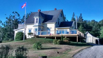 Photo for Lovely, large family home in idyllic Southwest Cove with castle view
