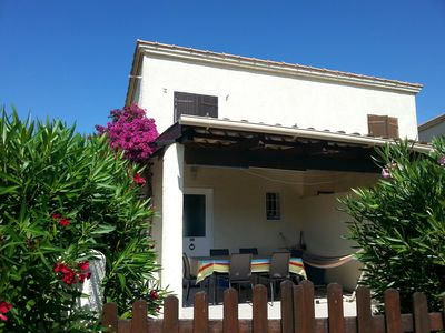 Photo for Superb villa conditioned 6 Places, 150m from the beach, Costa Verde