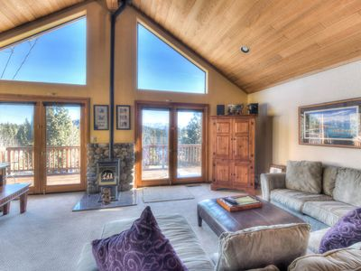 Photo for Truckee Home w/ High Quality Finishes + Game Room, Fireplace