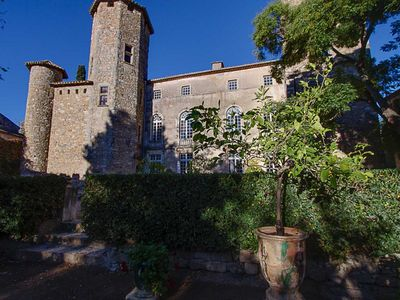 Photo for historic castle, mansion with character,swimming pool, park, tennis, WIFI