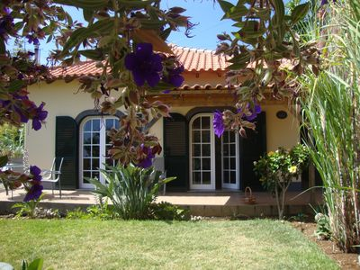 Photo for MADEIRA WINE COTTAGE- BOAL  has sea view,  is near beautiful walking areas.