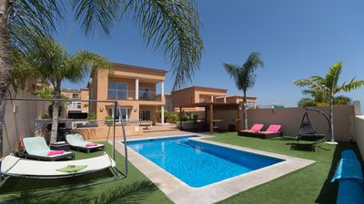 Photo for Beautiful 3 Bedroom 2 Bathroom Villa. Private Heated Pool. Air conditioning.