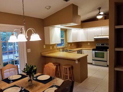 Photo for Lovely Split Design Home, Minutes to Beach, Shamrock Park, and Legacy Bike Trail
