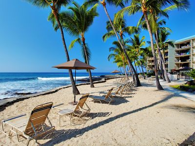 Photo for 2 BR Oceanfront, Resort Pool/Sundeck, WiFi Access- Close by Kona Sandy Cove