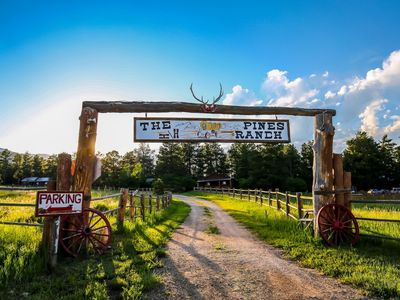 Photo for Rustic Ranch Weddings and Family Reunions ~ The Historic Pines Ranch