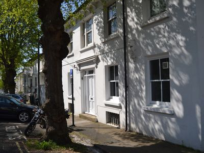 Photo for Shaftesbury Road Apartment- newly refurbed in leafy st near the North Laine.