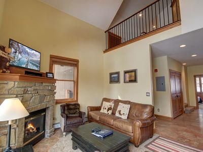 Photo for Antlers Gulch 303, Mountain Views, Large Balcony, shared hot tub, Summitcove Lodging