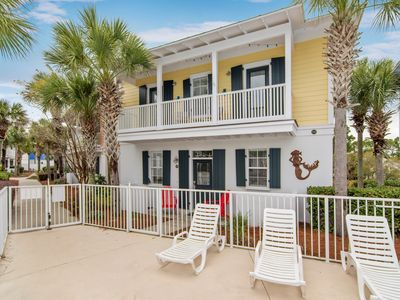 Photo for BRAND NEW! 'Epic Daze' in Seagrove 2BR/2.5BA Steps to Beach! Pool!