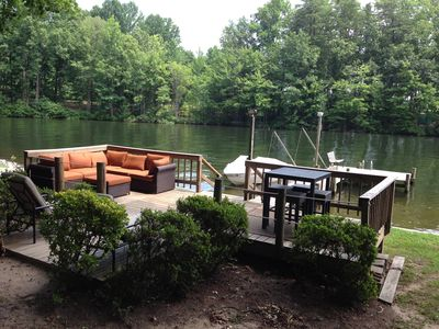 Second dock, and deck