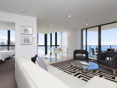 Photo for Incredible Ocean Views, guaranteed High FloorApartment at Rhapsody Resort - Perfect for Families
