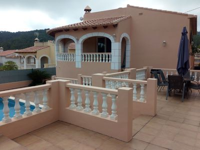 Photo for Modern Villa with Private Pool near Oliva