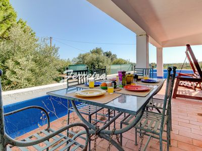 Photo for Villa Caramu - rustic 3 bedroom villa with private pool and great seaviews