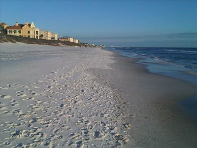 Photo for High Pointe,  Gulf/Beach Front,  2 Brm/2 Bath, 1st Floor, Next to Rosemary Beach
