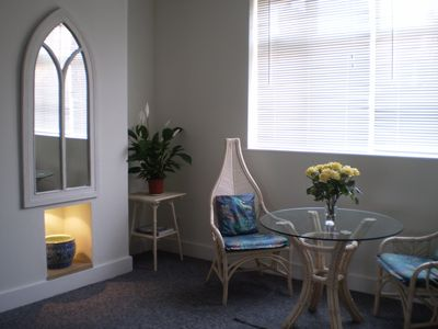 Photo for Bright & sunny newly refurbished double bedroom apartment.