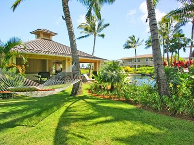 Photo for Nihilani 22C: Spacious Condo on Beautiful Kauai's North Shore, with A/C!