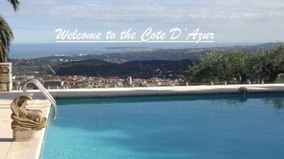 Photo for Villa Haute Logis Luxery Retreat,  Vence, French Riviera, Pool amazing  views