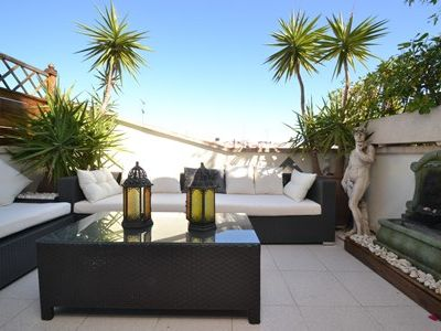 Photo for Apartment in the center of Sitges with Internet, Air conditioning, Terrace, Washing machine (642482)