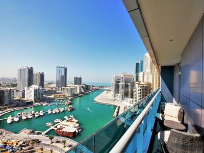 Photo for High-rise waterfront short term rental in Marina