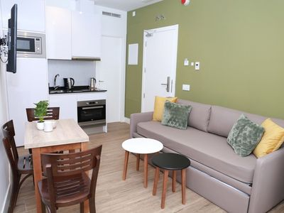 Photo for Interior one bedroom apartment for 4 people