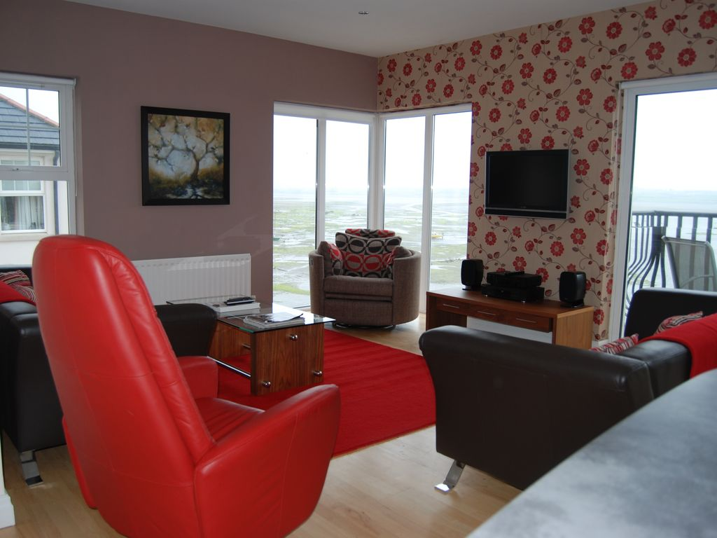 Stunning three bedroom second floor apartment with breathtaking waterfront v