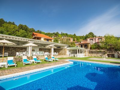 Photo for Deluxe Residence with Panoramic View in Taygetus Mountain