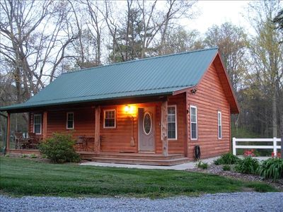 Photo for Luxurious, Cozy Cabin Nestled in Rural Mtn. Beauty.  Ez Access
