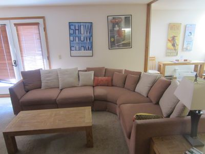 Photo for Large 2 BR 3 BA. ski-in, ski-out. Indoor/Outdoor POOL, hot tubs.