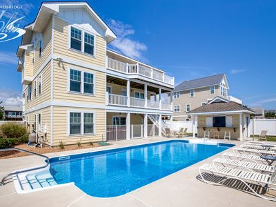 Photo for Smile N Wave | 287 ft from the beach | Private Pool, Hot Tub