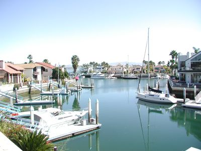 Photo for Waterfront Home with 50' dock located in the gorgeous Coronado Cays