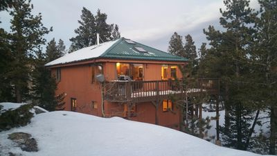 Photo for Secluded two story mountain home with beautiful views and spacious grounds