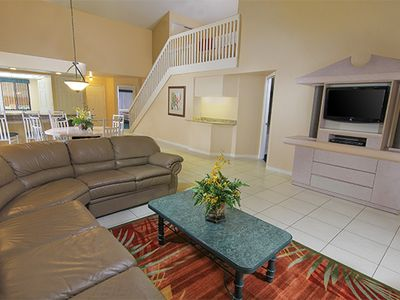 Photo for Spacious Deluxe Condo w/ Resort Pools, WiFi & Free Theme Park Shuttle