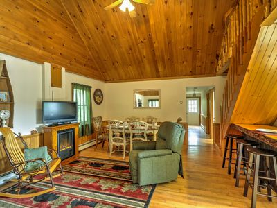 Photo for 2BR + Loft North Creek Cottage in the Adirondacks!