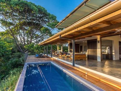 Photo for Brand New Contemporary Open Plan Villa with Ocean View & Outdoor Living