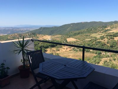 Photo for 2 bedroom Apartment with Fantastic views in Gaucin