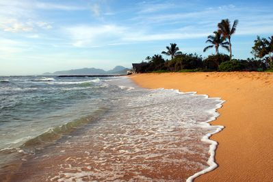 Waipouli Beach Is 50 Yards Away from Our Ocean View Condo