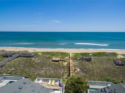 Photo for Heaven By The Sea: 8 bedroom, oceanfront, private heated pool and hot tub, elevator