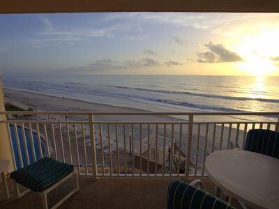 Photo for Beautiful udpdated 2 bed 2 bath ocean front condo with amazing ocean views!